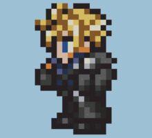 Lone Wolf Cloud sprite - FFRK - Final Fantasy VII (FF7) - Advent Children Kids Clothes