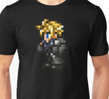 Lone Wolf Cloud sprite - FFRK - Final Fantasy VII (FF7) - Advent Children Unisex T-Shirt