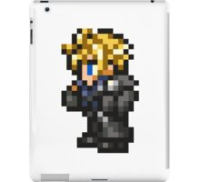 Lone Wolf Cloud sprite - FFRK - Final Fantasy VII (FF7) - Advent Children iPad Case/Skin