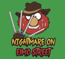 Nightmare on elmo street. Horror. by Faramiro