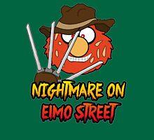 Nightmare on elmo street. Horror. Unisex T-Shirt