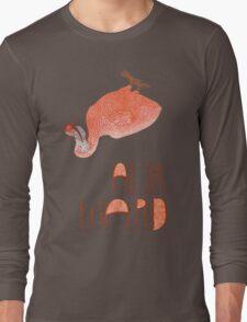 Awkward Orange Auk  T-Shirt