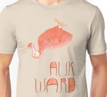 Awkward Orange Auk  T-Shirt