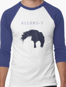 Allons-y, Alonso! Men's Baseball ¾ T-Shirt