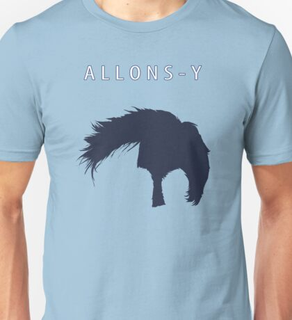 Allons-y, Alonso! Unisex T-Shirt