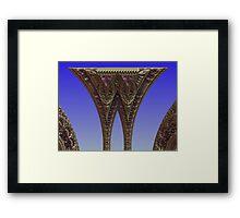 Gateway To Utopia Framed Print
