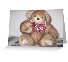 Adirondack Bear- Hello! Greeting Card