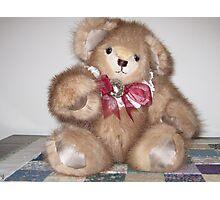 Adirondack Bear- Hello! Photographic Print
