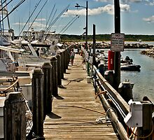 Menemsha Dock by phil decocco