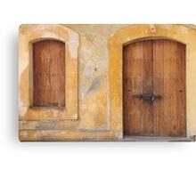The Doors of San Juan Canvas Print