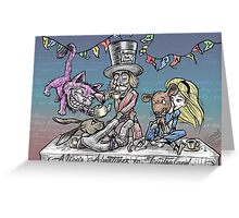 Mad Jiu Jitsu Tea Party Greeting Card