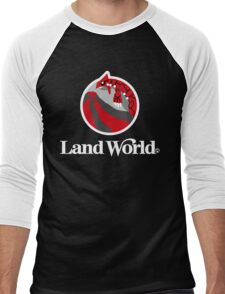 Land World Men's Baseball ¾ T-Shirt