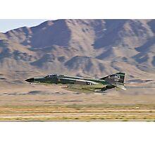 F4 Phantom  Low Pass During 2010 Aviation Nation Photographic Print