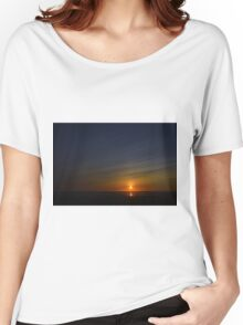Ocean Shores Sunset Women's Relaxed Fit T-Shirt