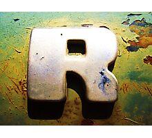 R Photographic Print