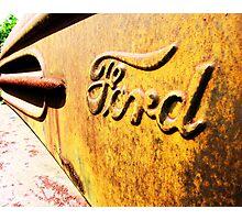 ford script Photographic Print