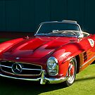 1957 Mercedes Benz 300SL Roadster by Jill Reger