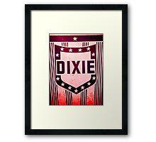 Dixie sign Framed Print