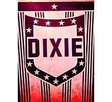 Dixie sign Photographic Print