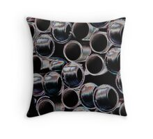 Rainbow Threads ~ pillow collection Throw Pillow