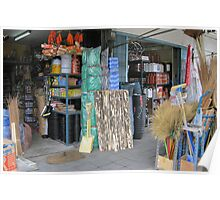 Hardware Store - pillow collection, Poster