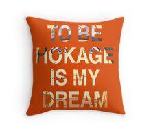 Hokage Throw Pillow