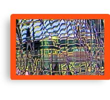 Modern Cities at 8+ Richter scale Canvas Print