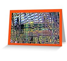 Modern Cities at 8+ Richter scale Greeting Card