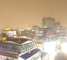 Hongdae Cranes by TheBetterly