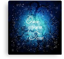 Once Upon A Time ~ Winter Snow Forest Canvas Print