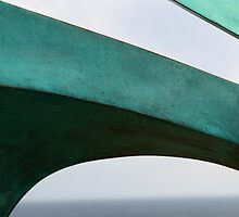 Green Curves, Bondi Sculpture by the Sea by Andy Solo