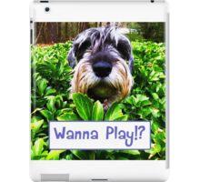Wanna Play!? iPad Case/Skin