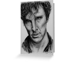 Benedict Cumberbatch Greeting Card