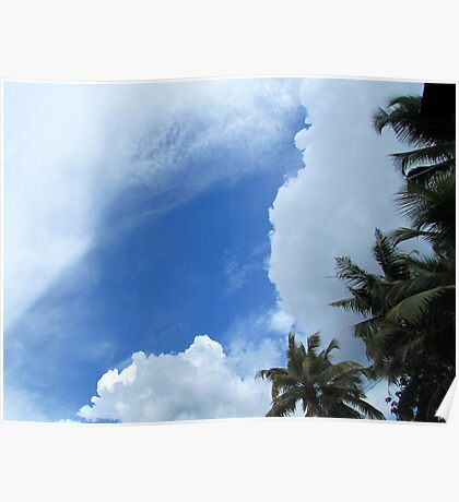 Cloudy sky Poster