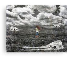 Wasteland Part 2 Canvas Print