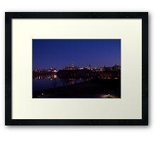 Ottawa @ night Framed Print