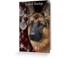 CC127 - German Shepherd Dog Greeting Card