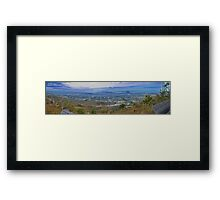 Townsville Panorama. Framed Print