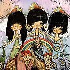 hippy chicks by Karin  Taylor