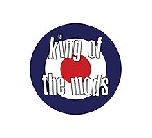 The Mighty Boosh – King of the Mods Photographic Print