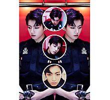 Jungkook Circles Photographic Print