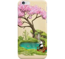 Anjing II  - The Zen garden iPhone Case/Skin