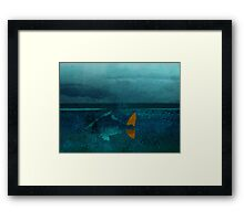 seaside - day 22 Framed Print