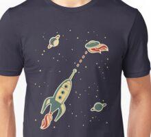 retro spaceship Unisex T-Shirt
