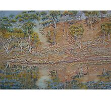 Coblinine river reflections - Dumbleyung Photographic Print