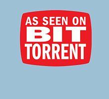 As seen on BitTorrent Unisex T-Shirt