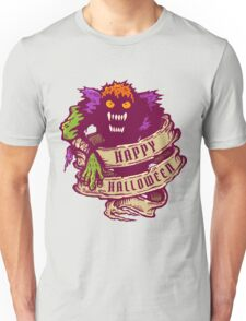 Monster and old ribbon for Halloween Unisex T-Shirt