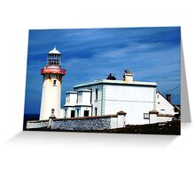 Arranmore Lighthouse Greeting Card