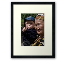 You Again! Framed Print