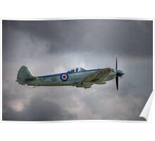 Supermarine Seafire MkXVII SX336 Poster
